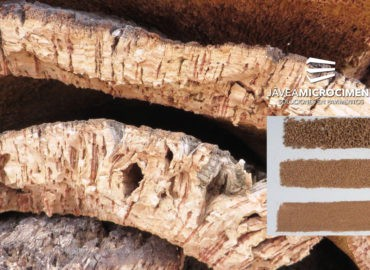 corcho natural proyectado